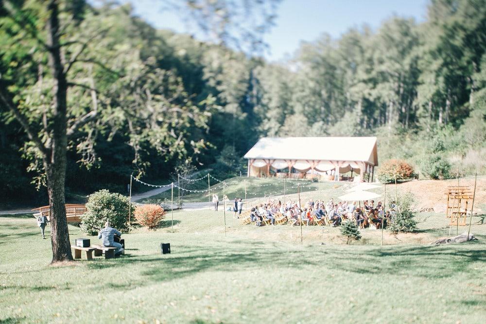 wedding ceremony site brahma ridge