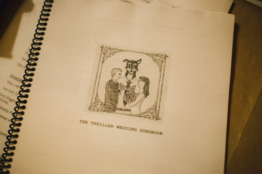 wedding songbook