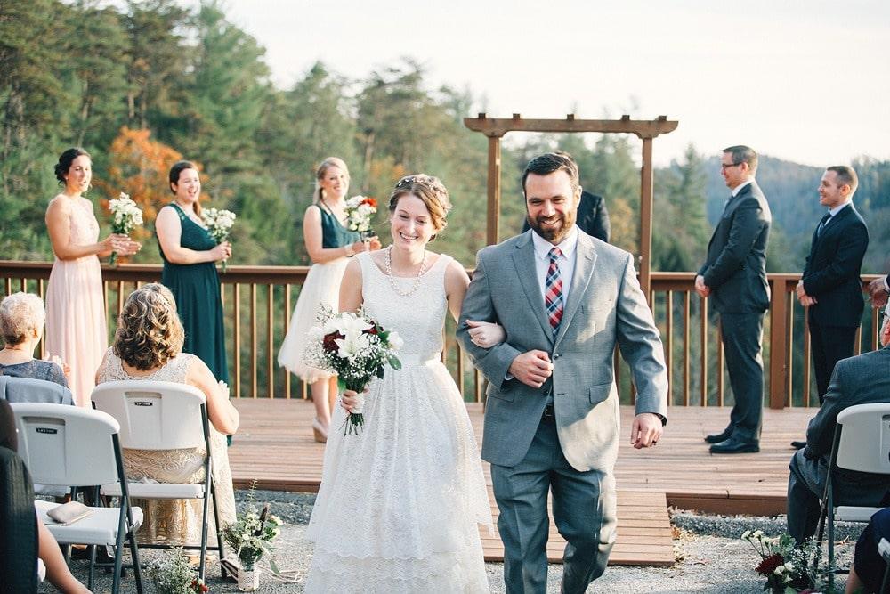 autumn red river gorge wedding photographers Lexington
