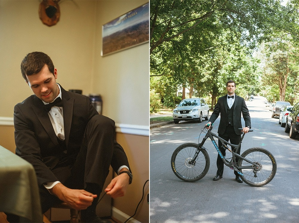 groom and mountain bike