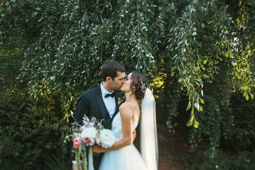 lewis ginter botanical garden wedding couple