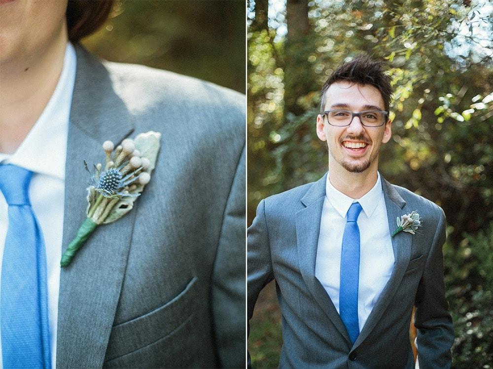 groomsmen boutonnieres