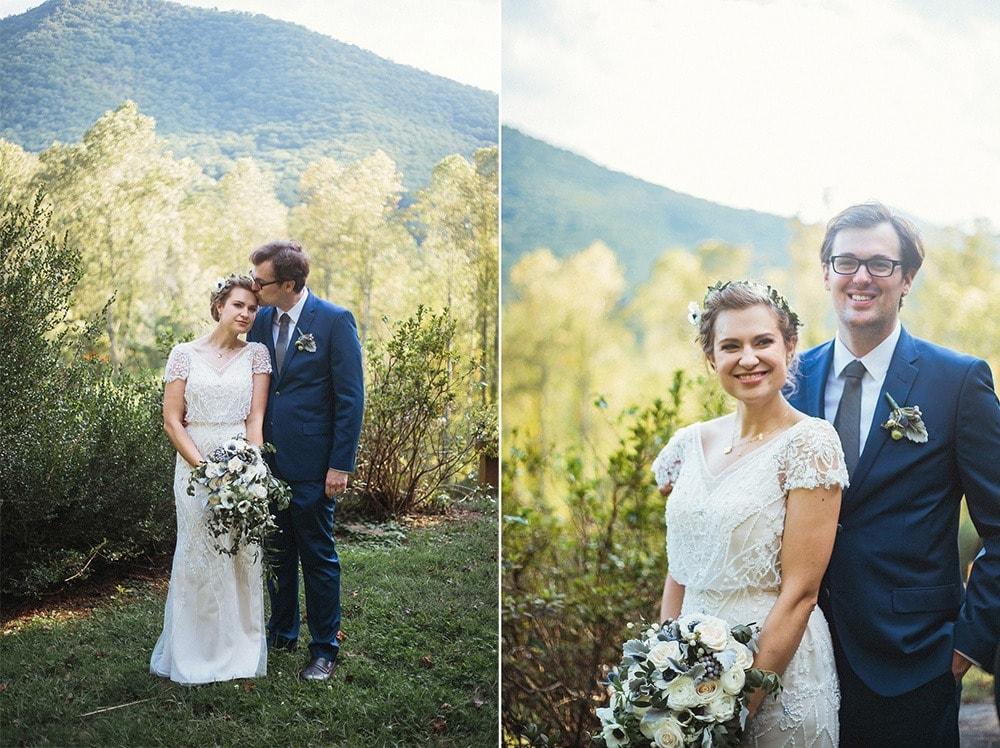 wedding portraits asheville photography