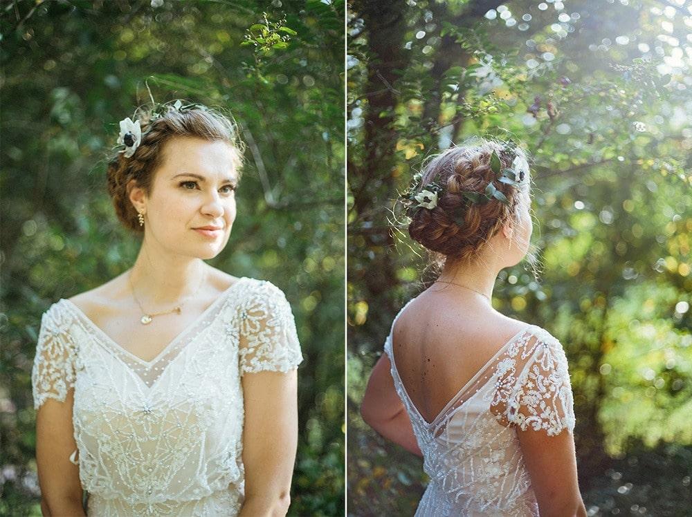 bridal portrait photography asheville wedding