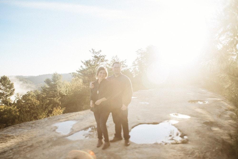 natural bridge engagement photographers
