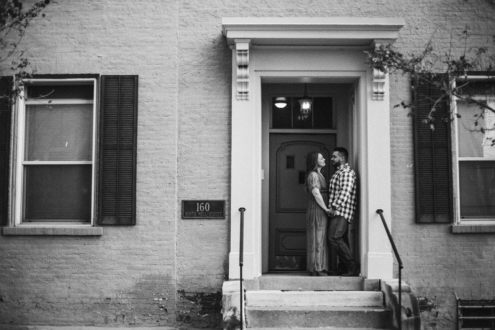 downtown lexington engagement wedding photographers