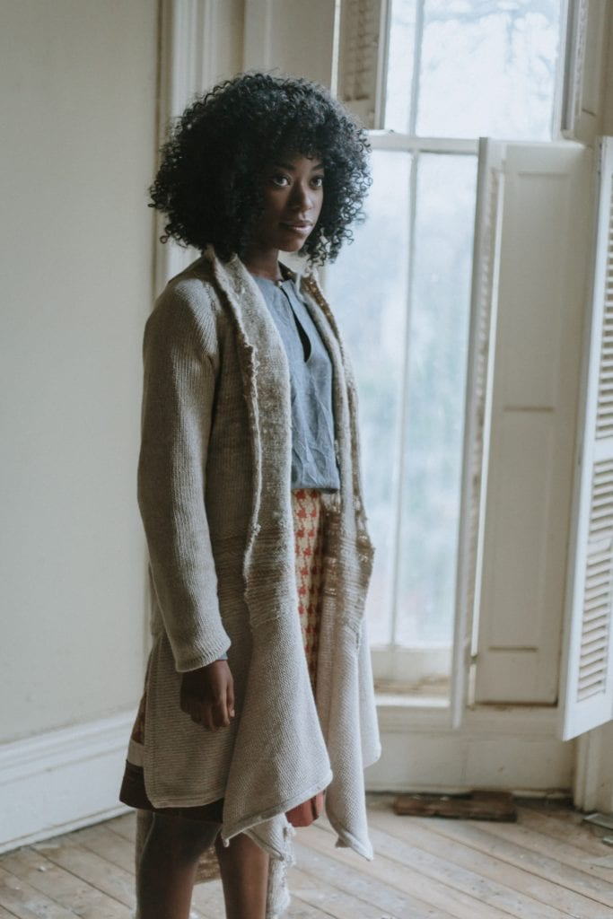 kwaneshia lewis models emily ridings fall 2019 collection richmond kentucky