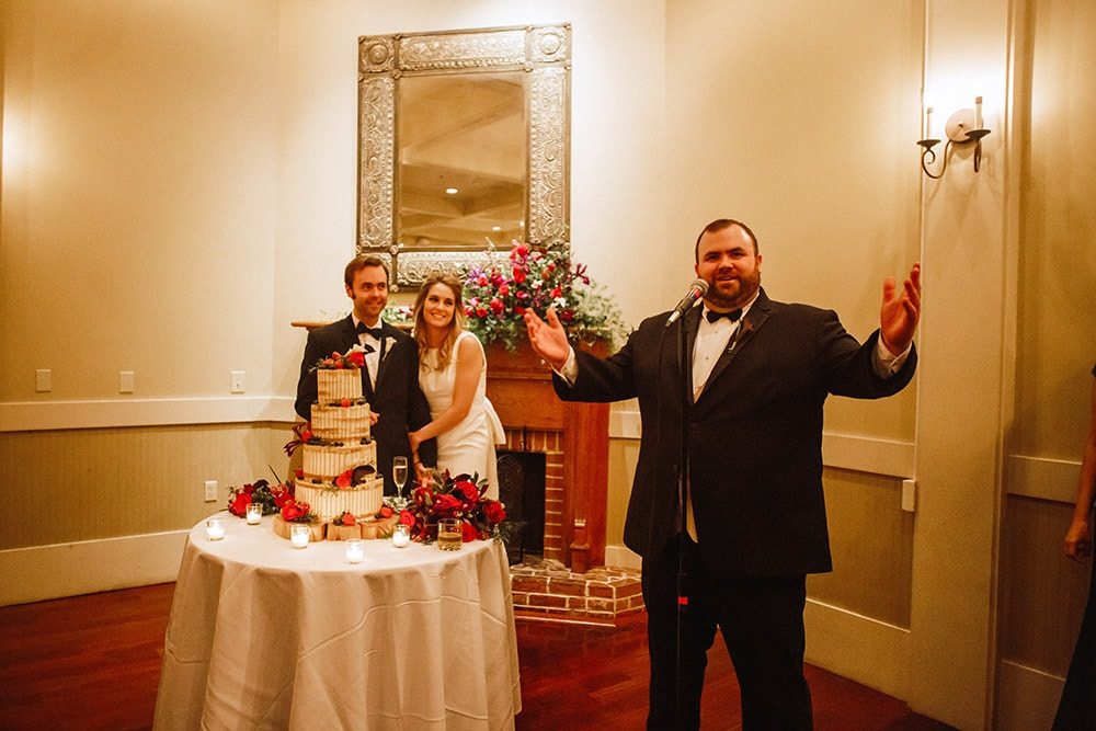 wedding best man toast