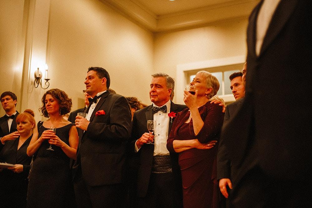 wedding toasts emotional