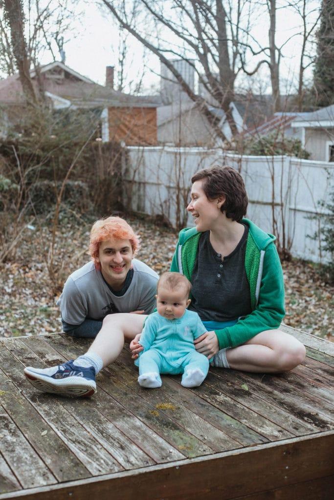self portrait family