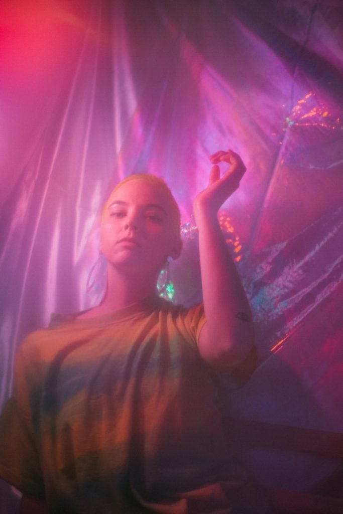electronic musician portraits