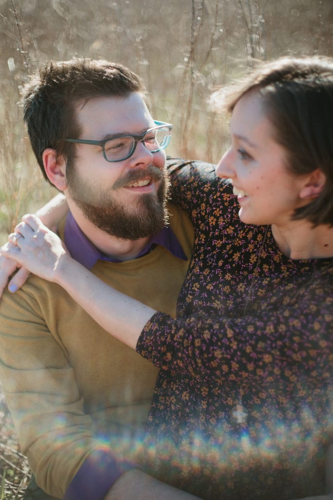 bernheim forest engagement photographer