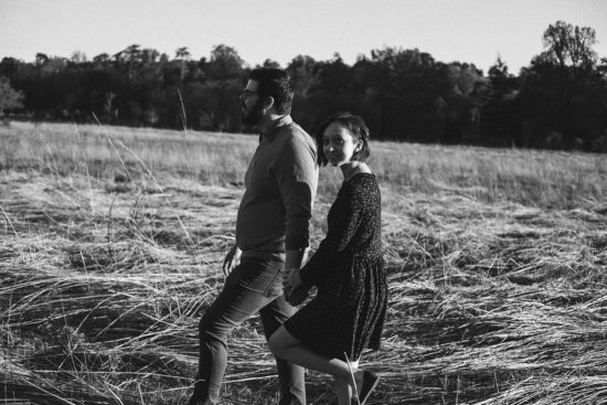 bernheim forest engagement photo