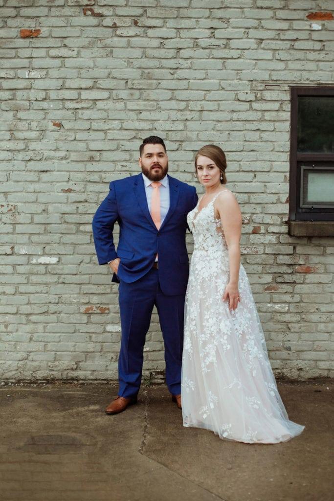 wedding couple manchester music hall