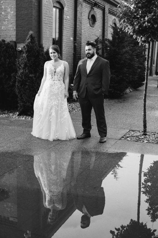 lexington distillery district wedding