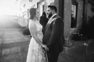 wedding couple manchester music hall lexington distillery district