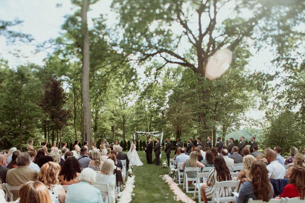 polo barn at saxony farms wedding