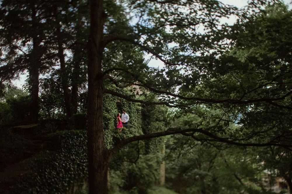 juliet balcony engagement photos