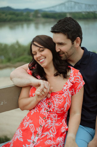 engagement by ohio river in portsmouth