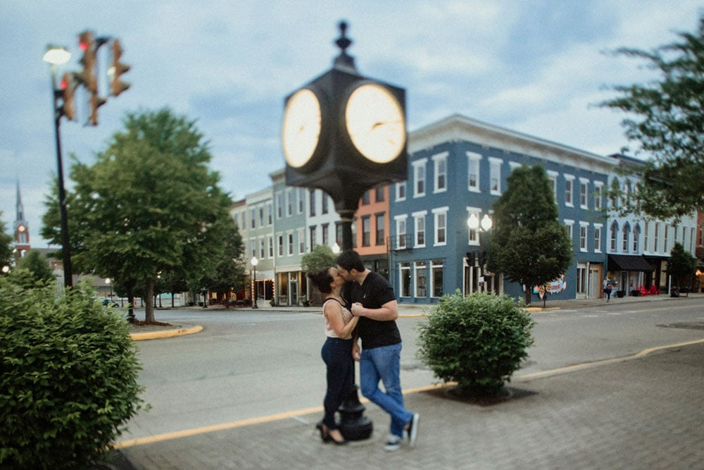 downtown portsmouth engagement photography
