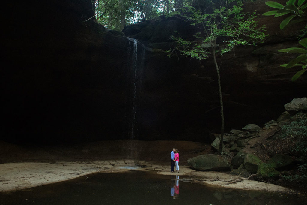 couple at copperas falls
