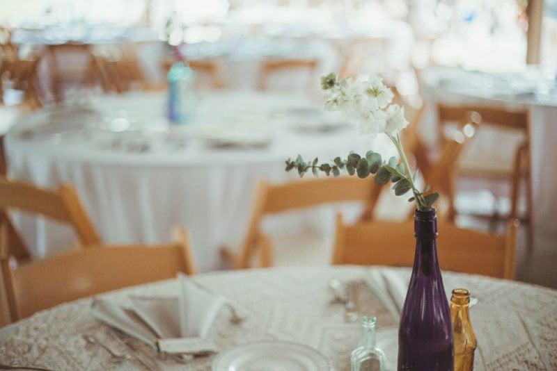 terrapin hill wedding table flowers