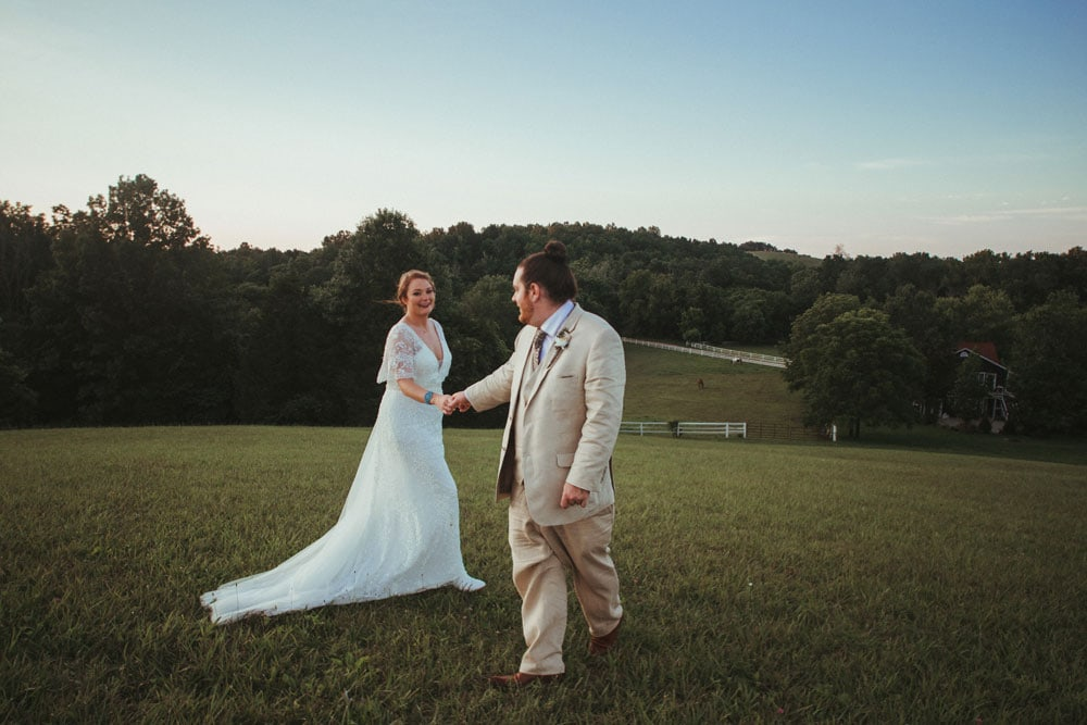 bride and groom dancing at terrapin hill