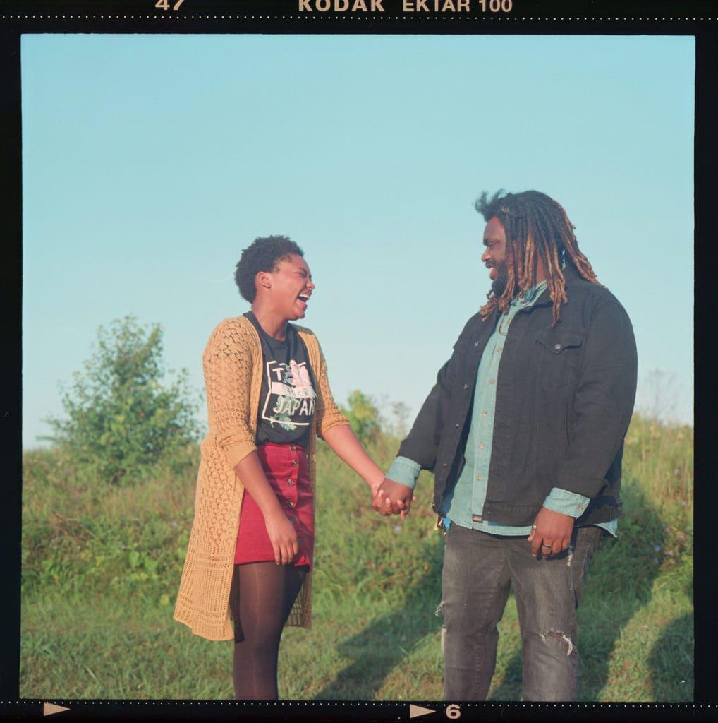 120mm film couple laughing hisle farm park