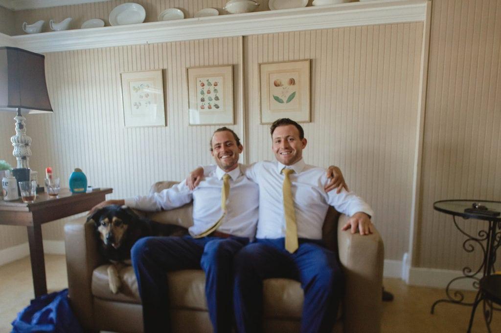 groomsmen midway wedding