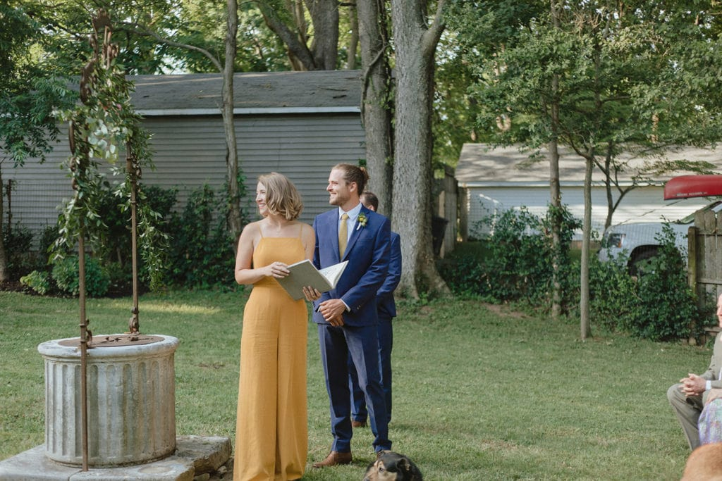 backyard wedding midway ky