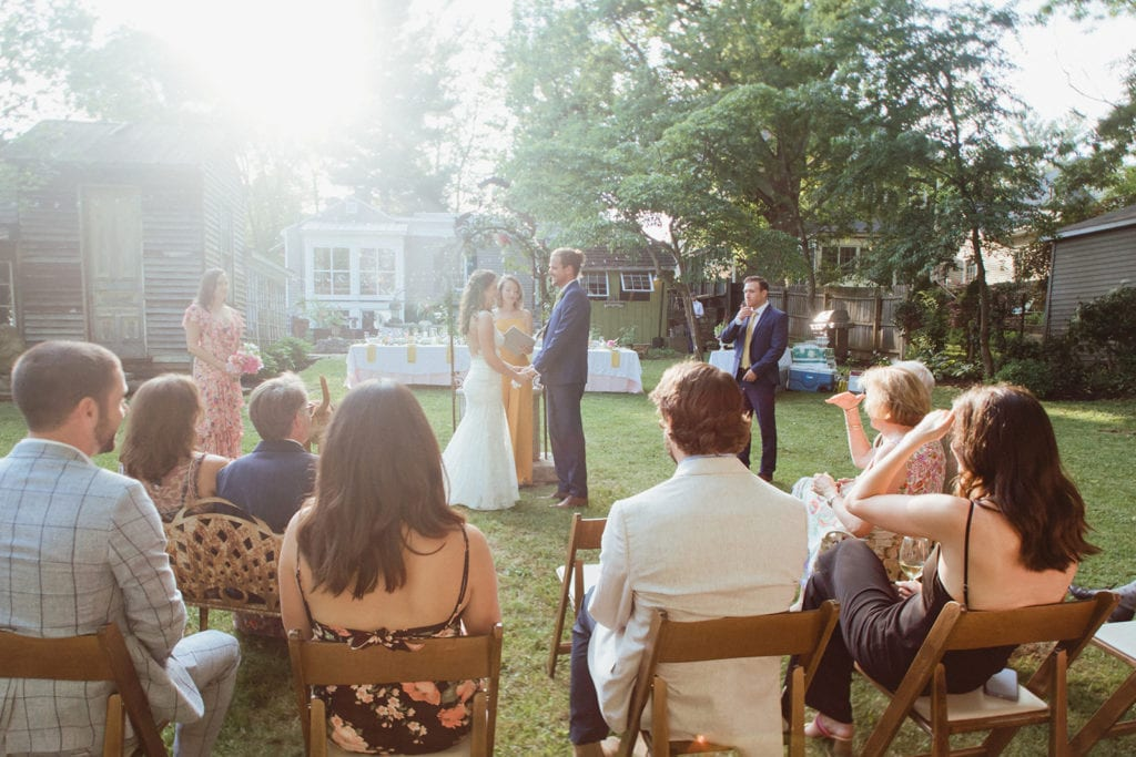 intimate wedding ceremony midway ky