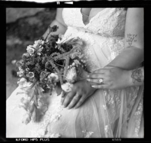 120 medium format film wedding
